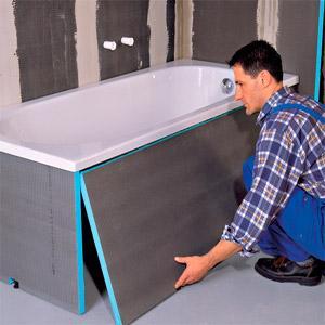 Работы по установке ванной в Ташкенте